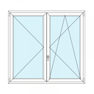 disegno swing windows in PVC