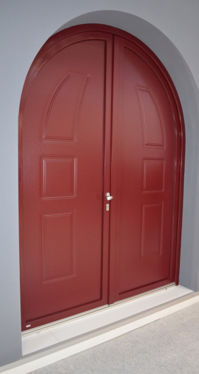 solid doors in pvc