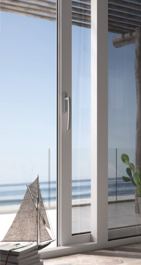 lift and slide french windows in pvc