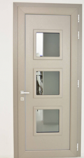 glass front doors in pvc