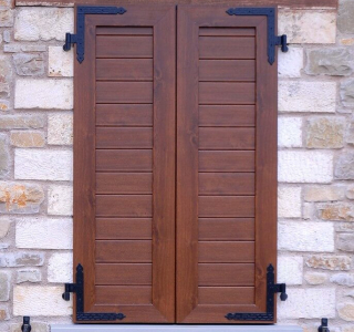 pvc or aluminium blinds for windows, french windows, arched windows and special shape windows